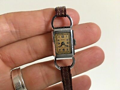 Vintage art deco Swiss Ladies Watch Doxa Anti-magnetic