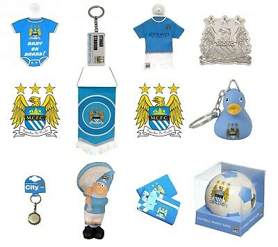 Official Licensed Manchester City Merchandise Gift christmas birthday souvenir