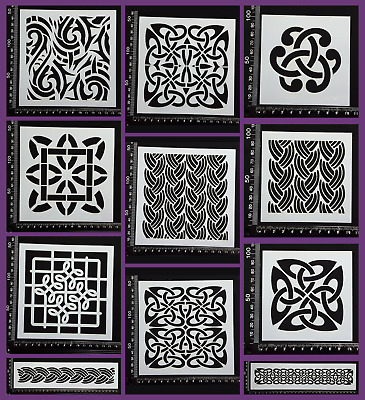 Stencils - Tribal and Celtic