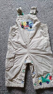 Baby Boys M&S Dungarees Age 3-6 Months