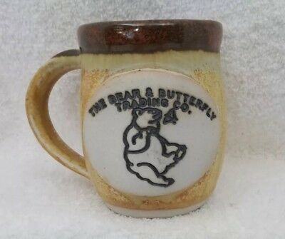 Smoky Mountain Pottery The Bear And Butterfly Trading Co Hand Thrown Mug
