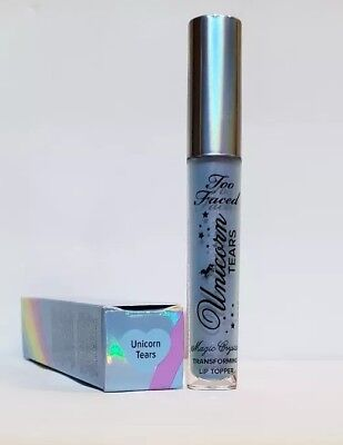 NEW TOO FACED Mystical Effects Lip Topper UNICORN TEARS💯Authentic