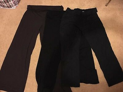 Next & Mamas And Papas ladies maternity trousers 16/18 X3