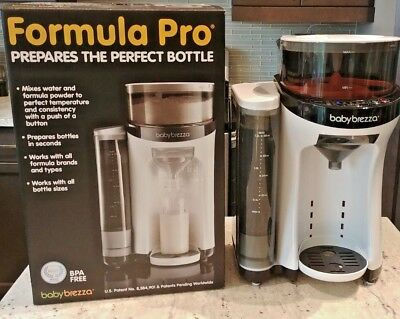 """Baby Brezza Formula Pro """"Keurig for Babies"""" Excellent Condition Purchased 2017"""