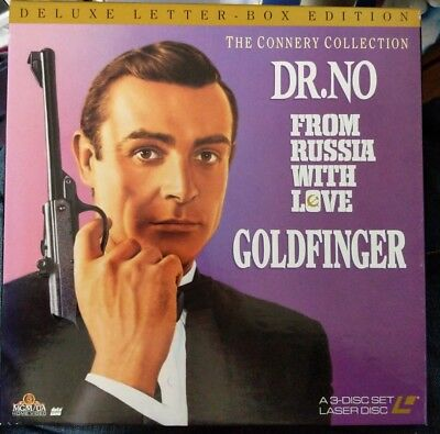 The Connery Collection Deluxe Letter-Box Edition: 3 Laser Disc Box Set - US VO