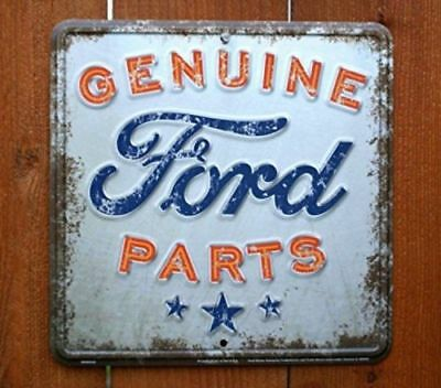 Genuine Ford Parts Nostalgia Sign, New, Free Shipping