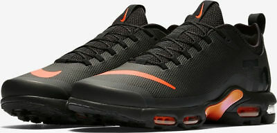 best loved b68c8 fdf16 MENS NIKE AIR Max Plus Tn Ultra Se Black Orange Aq0242 001 Uk 10 Eu 45