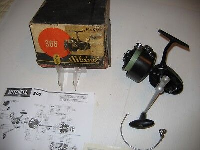 Moulinet Mitchell 306 angelrolle, fisching reel, carrete de pesca, angelrolle.