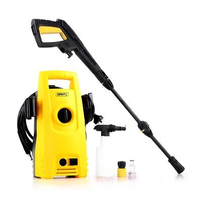 2900PSI High Pressure Hose Car Washer Nozzle Lightweight Powerful Motor Yellow