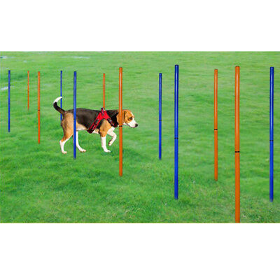 Pet Dog Training Pole Set Height Agility Exercise for Training Obedience