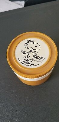 Snoopy,red Barron, Thermos Bottle  1965 Insulated Jar