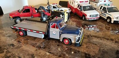1 18 yat ming road legends 1953 ford f 100 flatbed tow truck custom 1974 Ford Flatbed 1 18 yat ming road legends 1953 ford f 100 flatbed tow truck