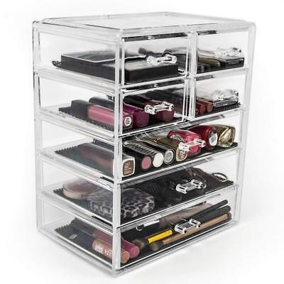 Sorbus Cosmetics Makeup and Jewelry Big Storage Case Display - Stylish...