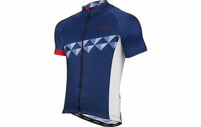 Boardman Mens Cycling Jersey Sort Sleeve Navy/Red Size 2XL Brand New Free P&P