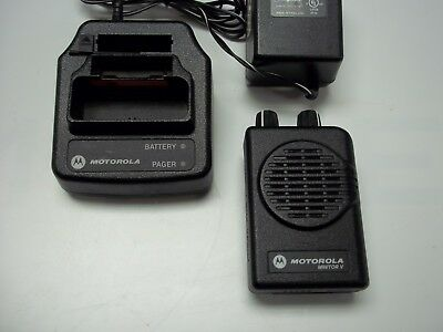 Motorola Minitor V -2 channel UHF ..450 - 460mhz pager