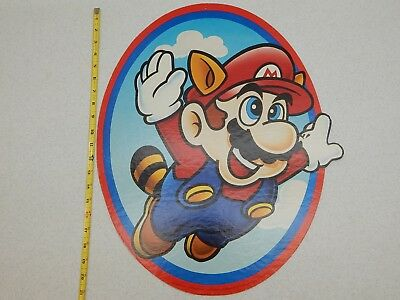Vintage Nintendo NES Super Mario Rare in-store Advertising from McDonalds 1990!
