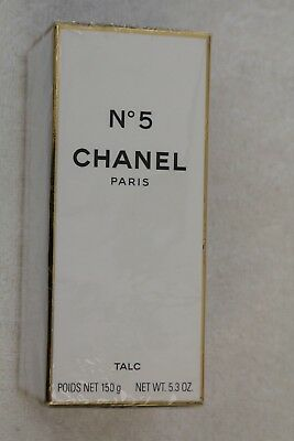Authentic Chanel No 5 Perfumed Powder for the Body, Very Rare and Still Sealed
