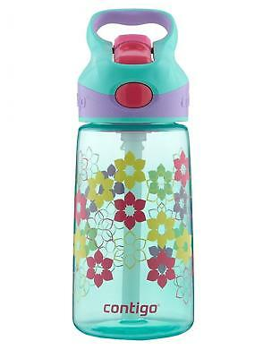 Contigo AUTOSPOUT Straw Striker Kids Water Bottle, 14 oz, Ultramarine