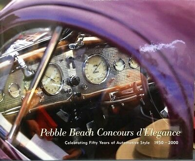 Pebble Beach Concours d'Elegance: Celebrating Fifty Years of Automotive Style