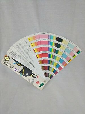 Pantone Color Fandeck Color Selector 1000 Uncoated 1995 edition
