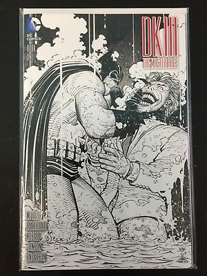 Dark Knight III Master Race #1 Ssalefish Comics exclusive sketch variant