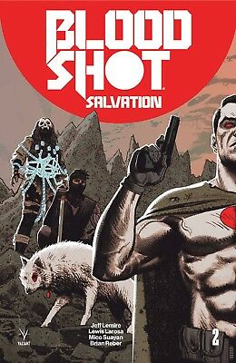 Bloodshot Salvation #2 Greg Smallwood 1:20 Variant