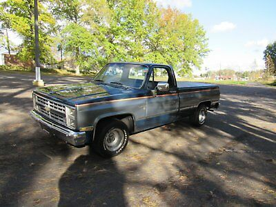 1986 Chevrolet C-10  1986 CHEVY C10 LONG BED NO RESERVE