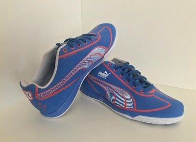 360b4ae25 New Womens Training   Indoor Soccer Shoes - Puma Faas Speed Star - Palace  Blue