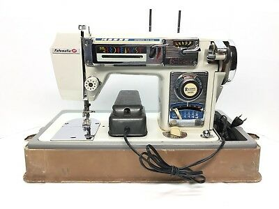 VINTAGE MORSE FOTOMATIC IV Model 40 Sewing Machine WPedal And Fascinating Morse 4400 Sewing Machine