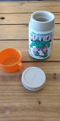 1978 Incredible Hulk Thermos, Aladdin INdustries Incorporated USA A1