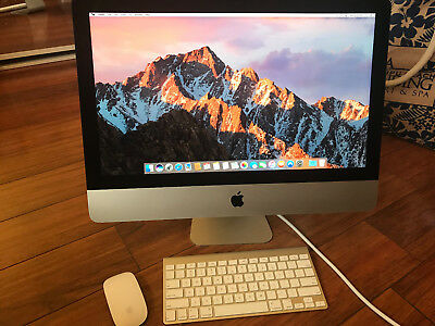 "EXCELLENT CONDITION! Apple iMac Intel Core i5 (THUNDERBOLT) 21.5"" Desktop PREOWN"