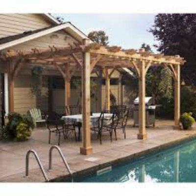 Breeze 16 Ft. W x 12 Ft. D Pergola by Outdoor Living Today