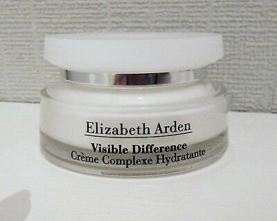 NEW ELIZABETH ARDEN VISIBLE DIFFERENCE REFINING MOISTURE CREAM COMPLEX 75ml