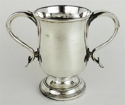 Lovely KING GEORGE III OLD SHEFFIELD PLATE LOVING CUP c1785