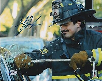 Rare Chicago Fire Yuri Sardarov Otis Signed Auto Large Fire Hose Valve Prop High Quality Television