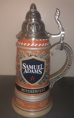 Samuel Adams 2018 Octoberfest Beer Stein, Brand New, Limited Edition!! #4626