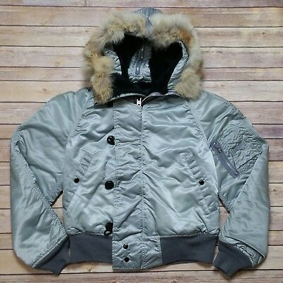 Vintage Corinth Cold Weather N-2B Parka Military Air Force Jacket size Medium