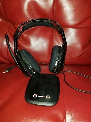 Astro A50 Black/Red Wireless Headset for PS4/PC - w/ Receiver and Charge Cable