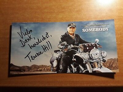"""Terence Hill Flyer, Kino, Premiere, """"mein Name Ist Somebody"""", Druck"""