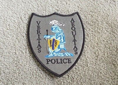 Veritas Aequitas SPD CRT Police Shoulder Patch