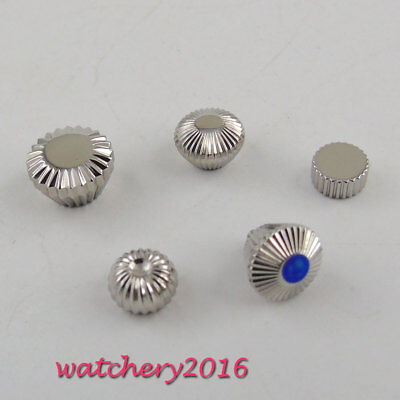 316L Stainless Steel PARNIS hardened Watch Crown fit 6497 6498 ST36 Movement