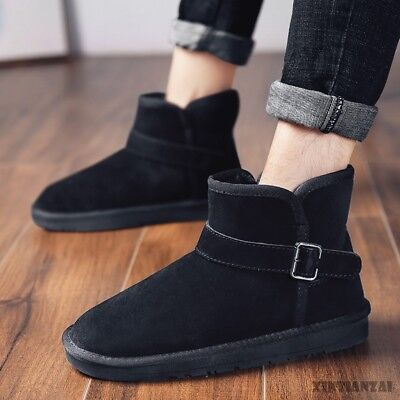 Womens Pull On Round Toe Flat Cotton Ankle Boots metal Shoes Snow Boots 2019 Hot