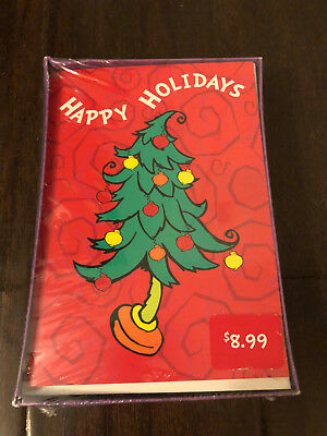 Dr Seuss HOW THE GRINCH STOLE CHRISTMAS USPS 20 Cards + Envelopes 2000 SEALED