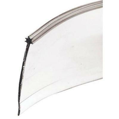 "Shower Door Bottom Sweep, 1/8""x 1-5/16""x 36"" , Clear Vinyl"