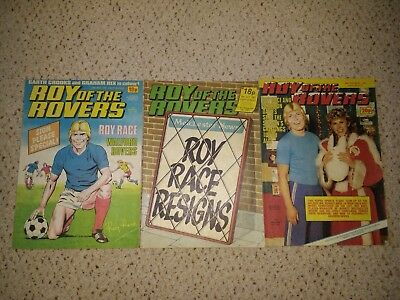 Roy of the Rovers Comics - 3 comics from 1983