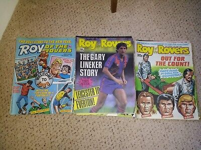 Roy of the Rovers Comics 1988  - 2/1988 to 24/9/1988 - 39 editions