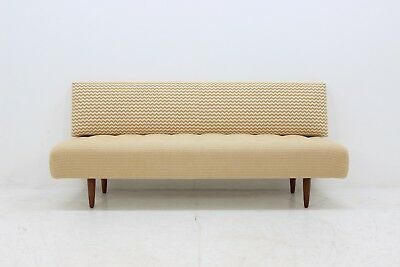 60er DANISH EICHE SCHLAFCOUCH CANAPÉ 60s OAK DAYBED MIDCENTURY VINTAGE SOFA