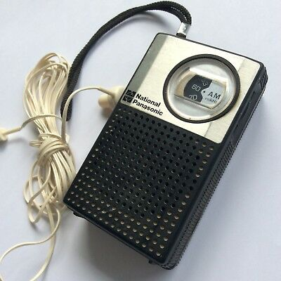 Vintage National Panasonic Transistor Radio AM
