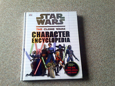 Star Wars Buch , The Clone Wars Character Encyclopedia