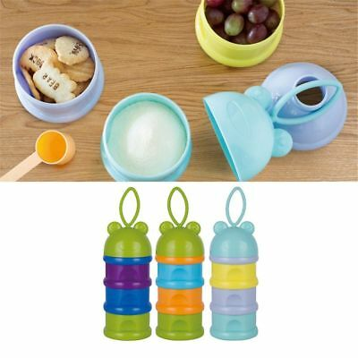 Safe Formula Dispenser Rushed Baby Food Container Candy Fruit Food Storage